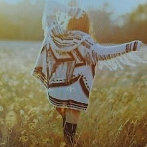 Free People small show me the way Fringe sweater